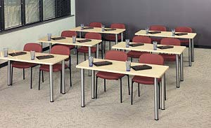 Modular Conference Training Tables Free Shipping