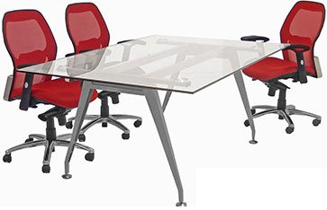 The Widest Selection Best Priced Conference Tables - Glass top conference room table